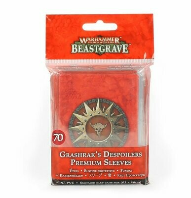 Grashrak's Despoilers Grashraks Vandalen Sleeves (Kartenhüllen) Beastgrave - Warhammer Underworld - Games Workshop