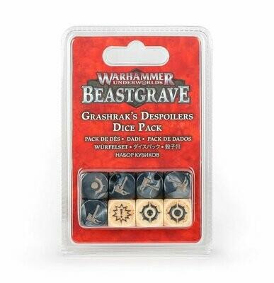 Grashrak's Despoilers Grashraks Vandalen Würfelset Beastgrave - Warhammer Underworlds - Games Workshop