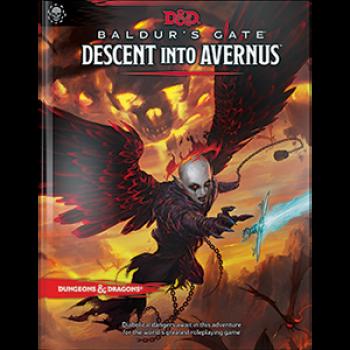 Dungeons&Dragons - D&D Baldur's Gate: Descent into Avernus Adventure Book - EN