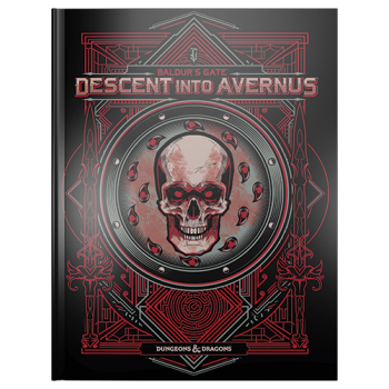 Dungeons&Dragons  -D&D Baldur's Gate: Descent into Avernus Adventure Book (Alternate Cover) - EN