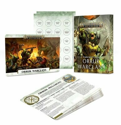 Schriftrollenkarten Warscrolls Deutsch: Orruk Warclans - Games Workshop