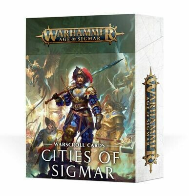 Warscroll Cards: Cities of Sigmar (Englisch) - Games Workshop