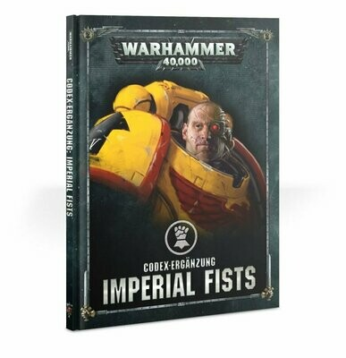 Codex Supplement: Imperial Fists (Englisch) - Warhammer 40.000 - Games Workshop