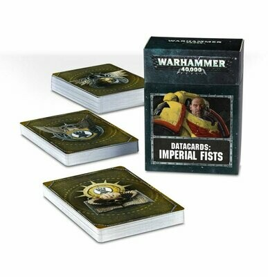 Datacards: Imperial Fists (Englisch) - Warhammer 40.000 - Games Workshop
