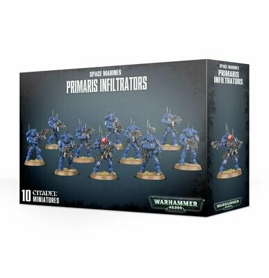 SPACE MARINES Primaris Infiltrators - Warhammer 40.000 - Games Workshop