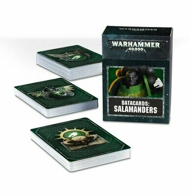 Datacards: Salamanders (Englisch) - Warhammer 40.000 - Games Workshop