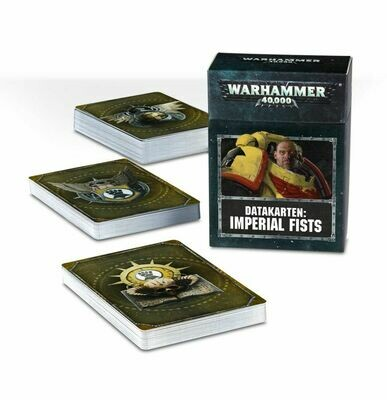 Datakarten: Imperial Fists - Warhammer 40.000 - Games Workshop