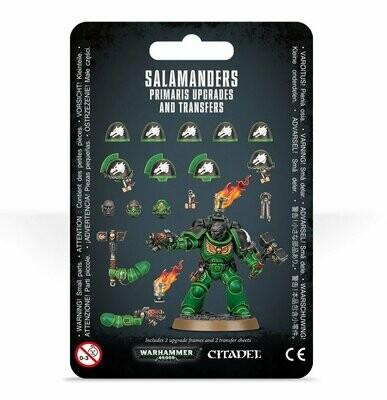 Upgrades und Abziehbilderbögen: Salamanders Primaris - Warhammer 40.000 - Games Workshop