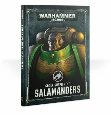 Codex Supplement: Salamanders (Englisch) - Warhammer 40.000 - Games Workshop