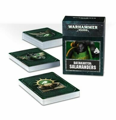 Datakarten: Salamanders - Warhammer 40.000 - Games Workshop
