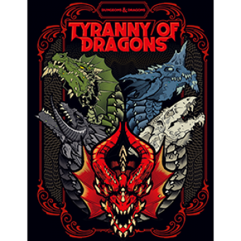 DnD - Dungeons & Dragons RPG - Tyranny of Dragons (Alternate Cover) - EN