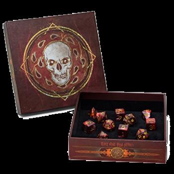 D&D Dungeons and Dragons - Baldur's Gate: Descent into Avernus Dice Set Würfel