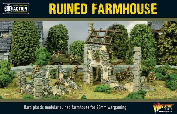 Ruined Farmhouse - Bolt Action - Warlord Games