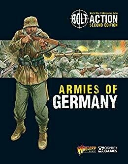 Armies of Germany Second Edition Armeebuch - Bolt Action (e)