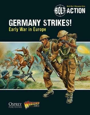 Germany Strikes!: Early War in Europe - Bolt Action - deutsch