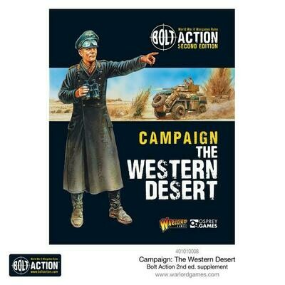 Campaign: The Western Desert - Bolt Action - Warlord Games