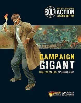 Sea Lion Part 2 - Operation Gigant - Bolt Action - deutsch