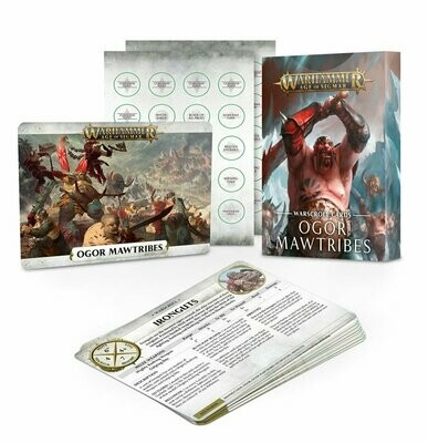 Warscroll Cards: Ogor Mawtribes (Englisch) - Ogor Mawtribes - Warhammer Age of Sigmar - Games Workshop