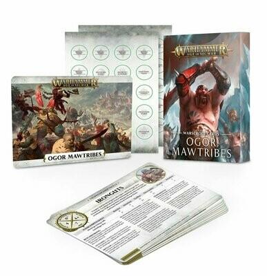 Schriftrollenkarten Warscroll Cards - Ogor Mawtribes - Warhammer Age of Sigmar - Games Workshop