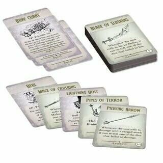Kings of War Third Edition Spell & Artefact Cards (EN) - English
