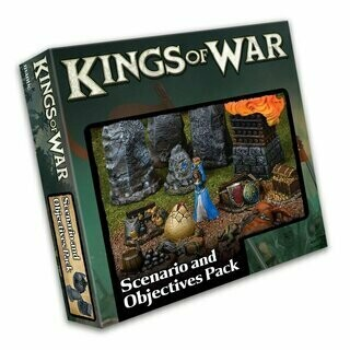 Kings of War Third Edition Scenario and Objective Set - English