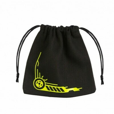 Galactic Black & yellow Dice Bag - Würfeltasche