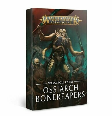Schriftrollenkarten der Ossiarch Bonereapers Deutsch - Warhammer Age of Sigmar - Games Workshop