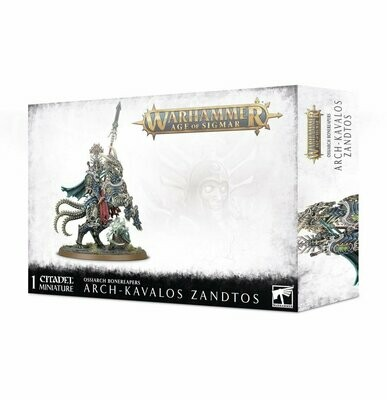 Arch-Kavalos Zandtos - Ossiarch Bonereapers - Warhammer Age of Sigmar - Games Workshop