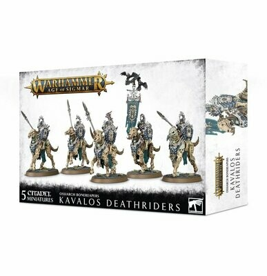 Kavalos Deathriders - Ossiarch Bonereapers - Warhammer Age of Sigmar - Games Workshop