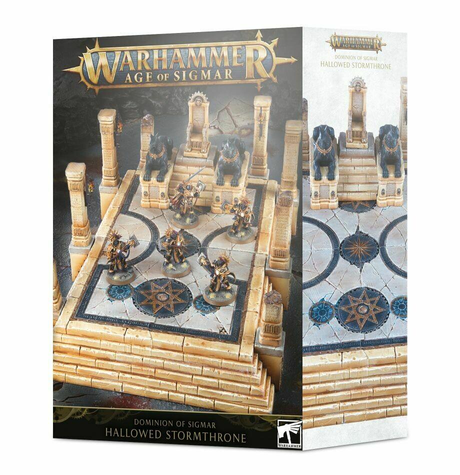 Dominion of Sigmar: Hallowed Stormthrone - Warhammer Age of Sigmar Gelände - Games Workshop