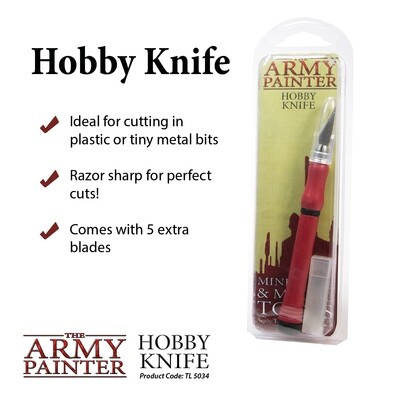 Precision Hobby Knife - Werkzeug - Army Painter Tools