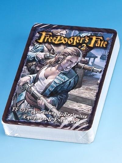 Ausrüstung und Ereignisse 2.0- Freebooter's Fate - deutsch/english