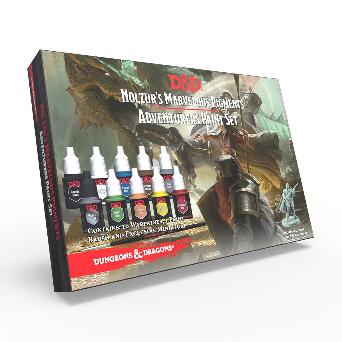 D&D® Adventurers Paint Set - Army Painter Warpaints