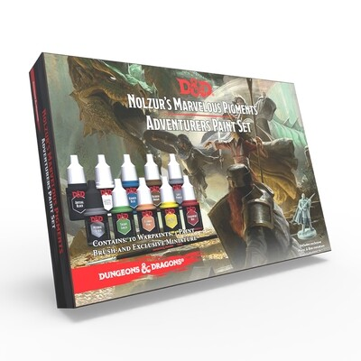 D&D® Adventurers Paint Set - Army Painter Warpaints