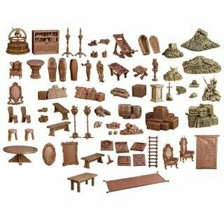 Dungeon Dephts - Terrain Crate - Mantic Games