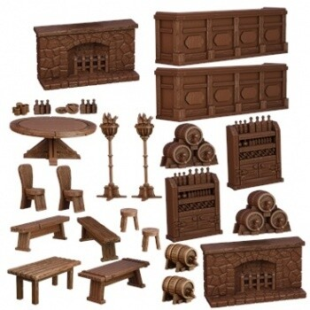 Tavern - Terrain Crate - Mantic Games