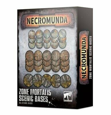 Zone Mortalis: Scenic Bases Necromunda - Games Workshop