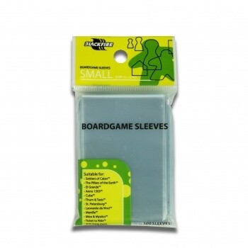 Sleeves - Boardgame Sleeves - Small (46x70mm) - 100 Pcs