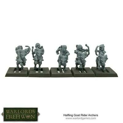 Halfling Goat Rider Archers - Warlord Games