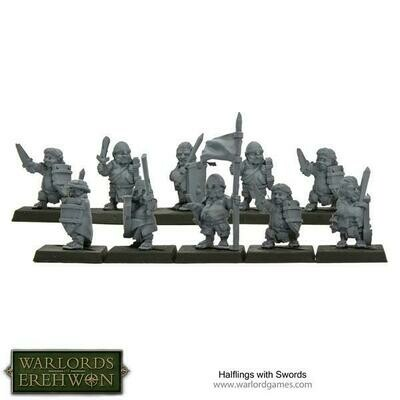 Halflings with Swords - Warlord Games