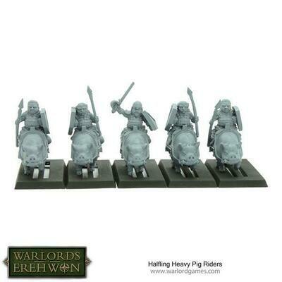 Halfling Heavy Pig Riders - Warlord Games