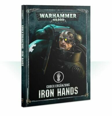 Codex-Erweiterung: Iron Hands (Deutsch) - Warhammer 40.000 - Games Workshop