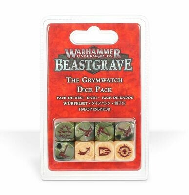 The Grymwatch Grimwacht Dice Pack Würfelset Beastgrave - Warhammer Underworlds - Games Workshop