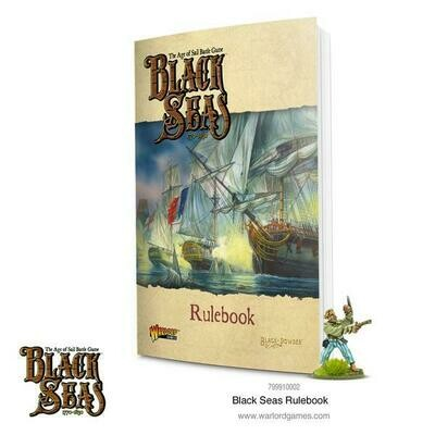 Black Seas Rulebook - Regelbuch English - Warlord Games