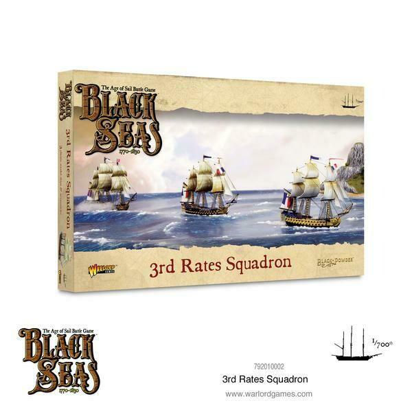3rd Rates Squadron (1770 - 1830) - Black Seas - Warlord Games