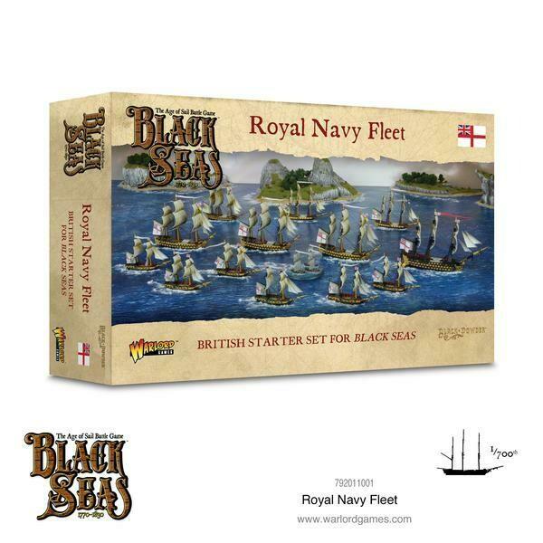 Royal Navy Fleet (1770 - 1830) - Black Seas - Warlord Games