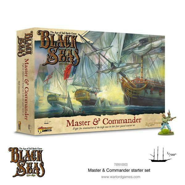 Black Seas Master & Commander Starter Set  - English - Warlord Games