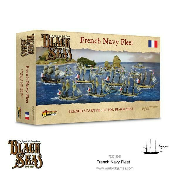 French Navy Fleet (1770 - 1830) - Black Seas - Warlord Games