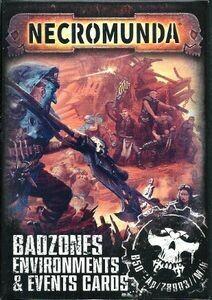 Necromunda Badzones Environments & Envents Cards - Games Workshop
