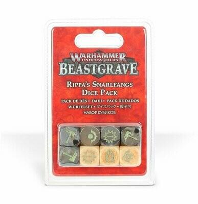Würfel Dice: Fetzas Zahnfletschas (Rippa's Snarlfangs) Beastgrave - Warhammer Underworlds - Games Workshop